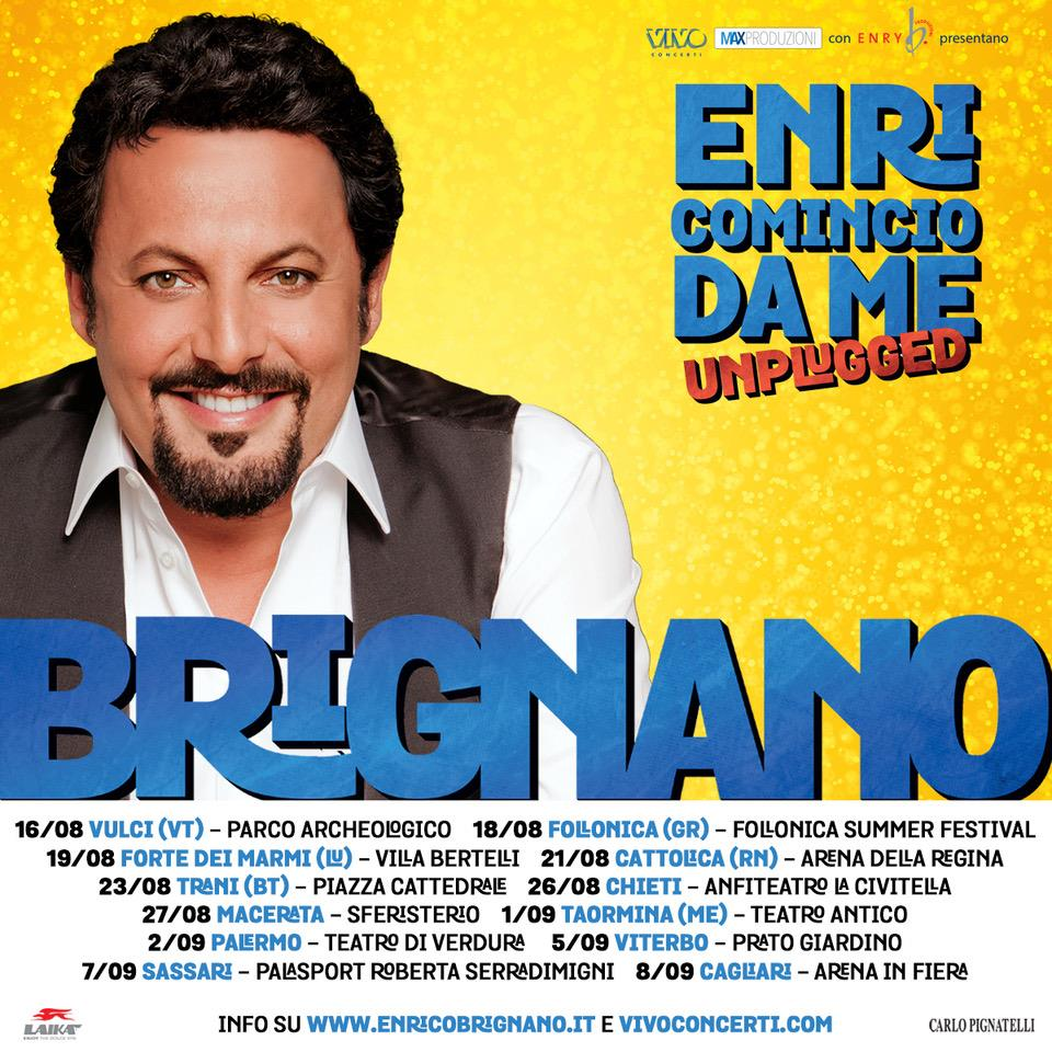 Sono disponibili i biglietti per il tour estivo! Clicca qui: https://t.co/7cAOt86qU8 #EnricomincioDaMeUnplugged https://t.co/A9gXWakw4l