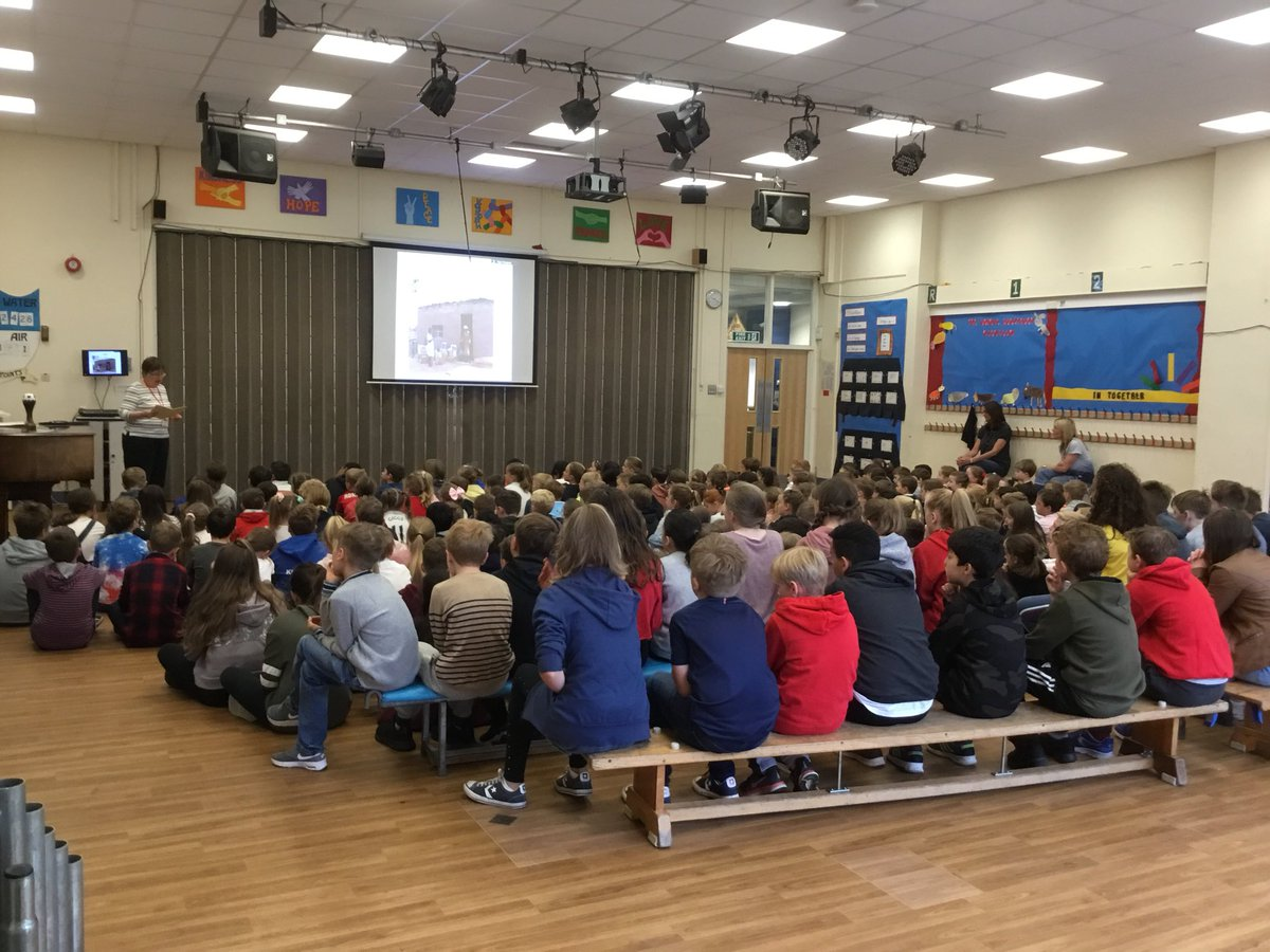 test Twitter Media - KS2 pupils have been joined by Jenny from @Wilmslow_Wells today to learn about the great work that they do to improve the lives of those living in drought-stricken areas of Africa  #gorseypshe #gorseyglobal  https://t.co/2dwfHfHE3Y https://t.co/VNiatVxgsX
