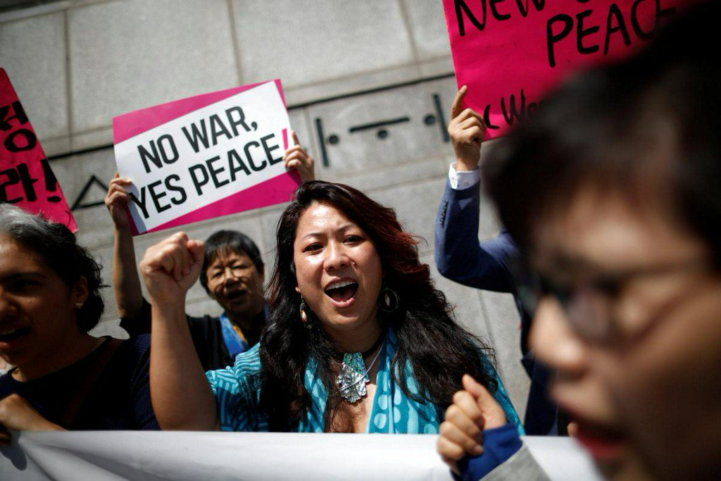 'No Nobel Peace Prize for Trump': South Koreans slam cancellation of summit https://t.co/dDLqKmIk0C https://t.co/iPdojuowJV