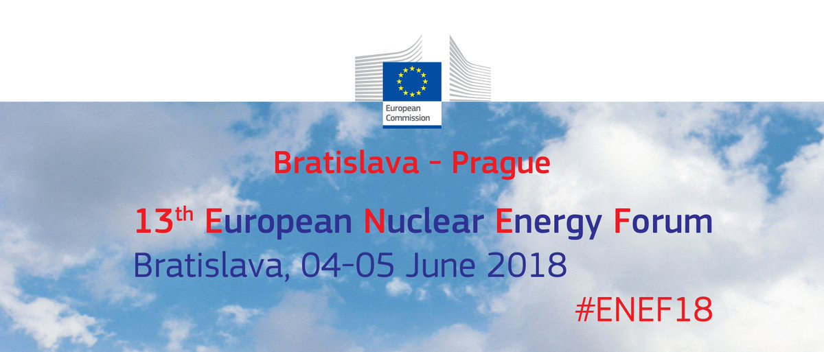 The #ENEF18 forum in Bratislava on 4-5 June will focus on 'Maintaining a critical level of #nuclearsafety expertise in Europe' &amp; 'Small Modular Reactors'.  You still have time to participate, registration closes on 30 May!   http:// europa.eu/!UM63pp  &nbsp;  <br>http://pic.twitter.com/kMPTH2v9CD