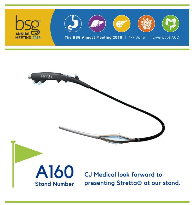 #StrettaTherapy will be presented at the #BSG2018 in Liverpool, 4th - 7th June. Visit stand A160 to learn more about #Radiofrequency Treatment for #GORD #Acid Reflux #gastroenterology<br>http://pic.twitter.com/8DoAWWZakz