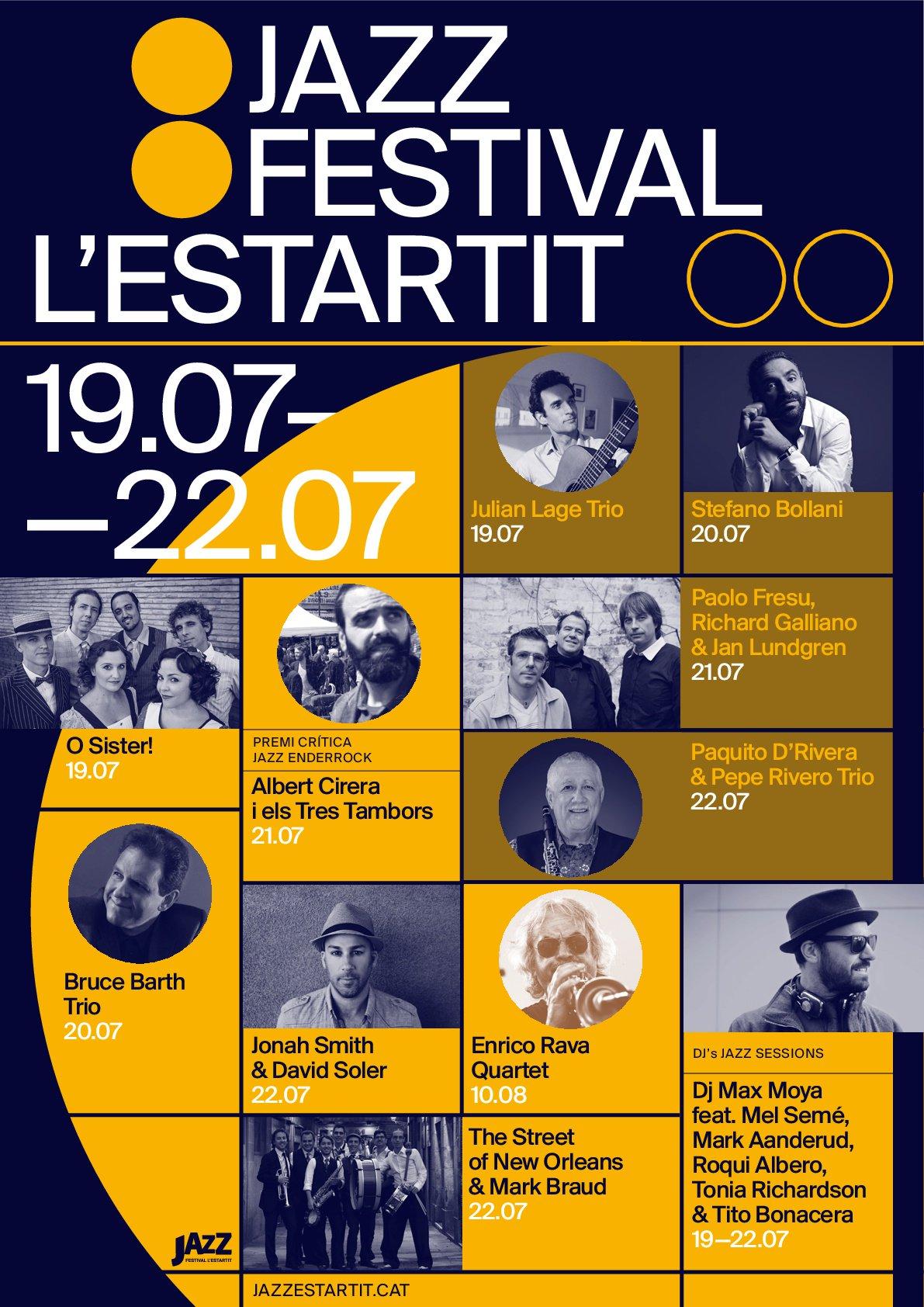 festival de jazz l'estartit 2018