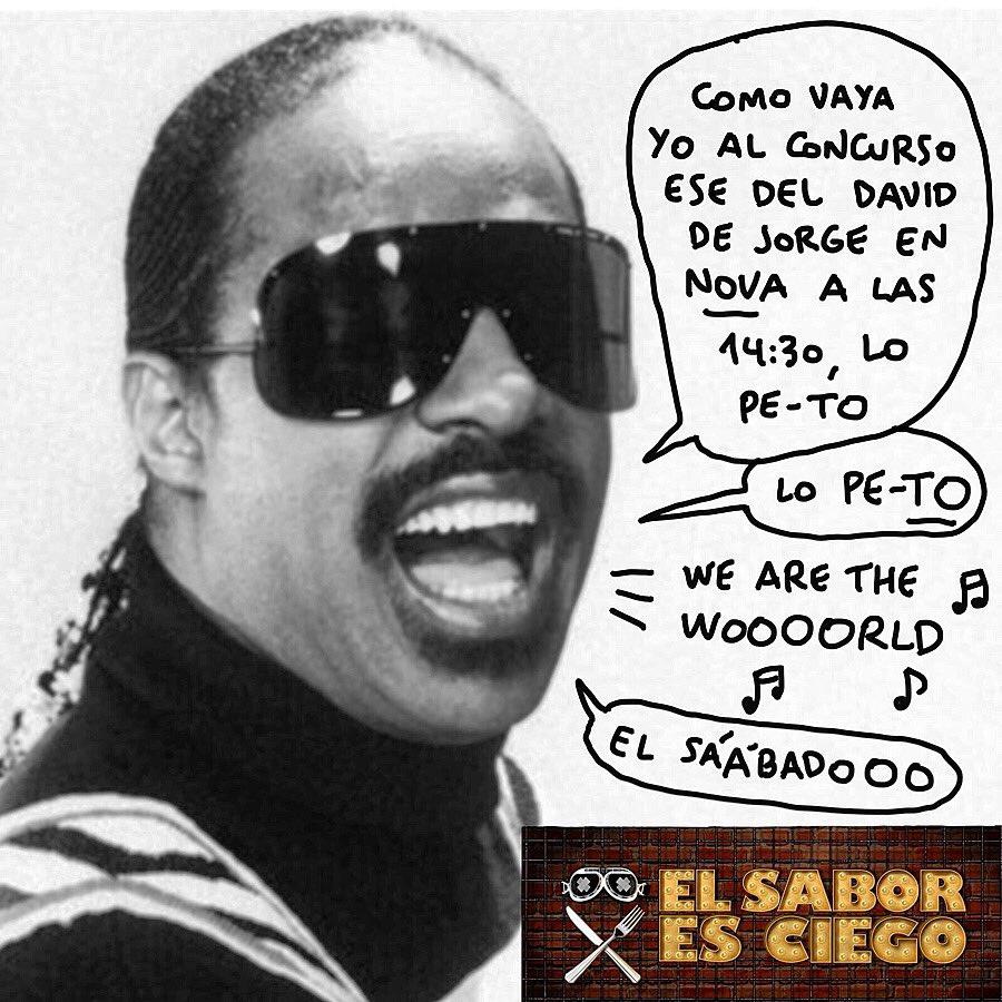 SÁBADO 14.30h. | @NovaTDT ✊️🔥 Aupa Stevie Wonder!