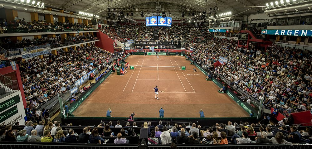 🇦🇷 Argentina's #DavisCup World Group play-off against 🇨🇴 Colombia will be held at the Estadio Cerrado Doctor Aldo Cantoni in San Juan!  Find out more 👉 https://t.co/m9WyKF5RVM