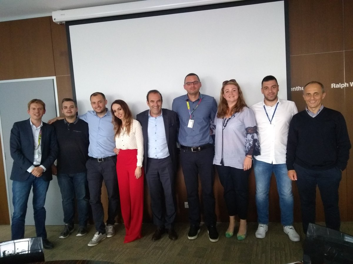 One of my favourite parts of the job is to go out and visit my colleagues from all over Europe. An inspiring few days during a #moto workshop in Bratislava – thanks for all the hard work team and look forward to seeing the ideas discussed come to life @MotorolaSK #motog6 <br>http://pic.twitter.com/mnTz8PkuYV