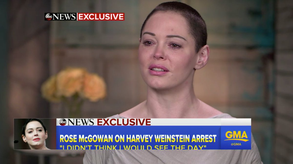 Rose McGowan on Harvey Weinstein: 'I have a visceral need for him to have handcuffs on' https://t.co/EFur4GWmNO