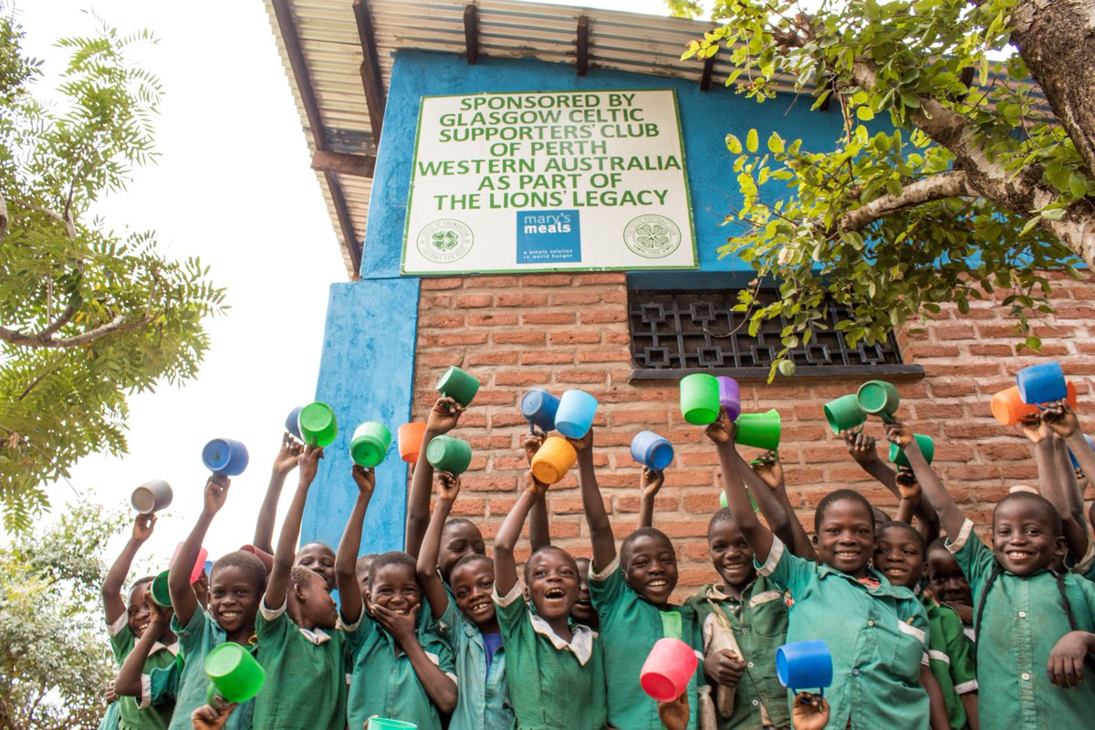 On the 51st anniversary of our greatest triumph we are so proud to see the outcomes of the magnificent #LionsLegacy campaign in Malawi.  Thanks to the global Celtic family there are so far:  ✅47 Kitchens in operation ✅32,000 children receiving food daily  🦁🌎 Wow! Thank you!
