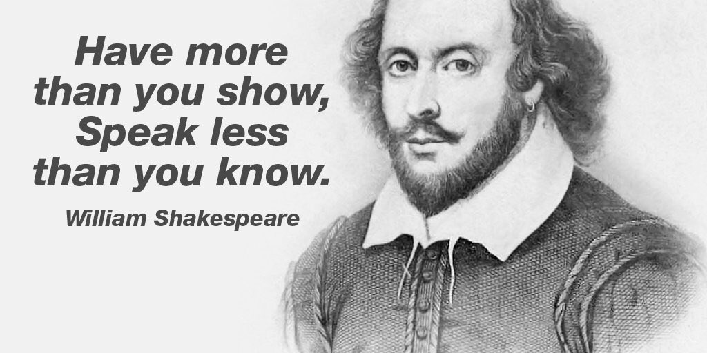 Have more than you show, speak less than you know! #deepbaco thoughts #bacon #quote #onlinemaketing https://t.co/W9bdE2qOJf