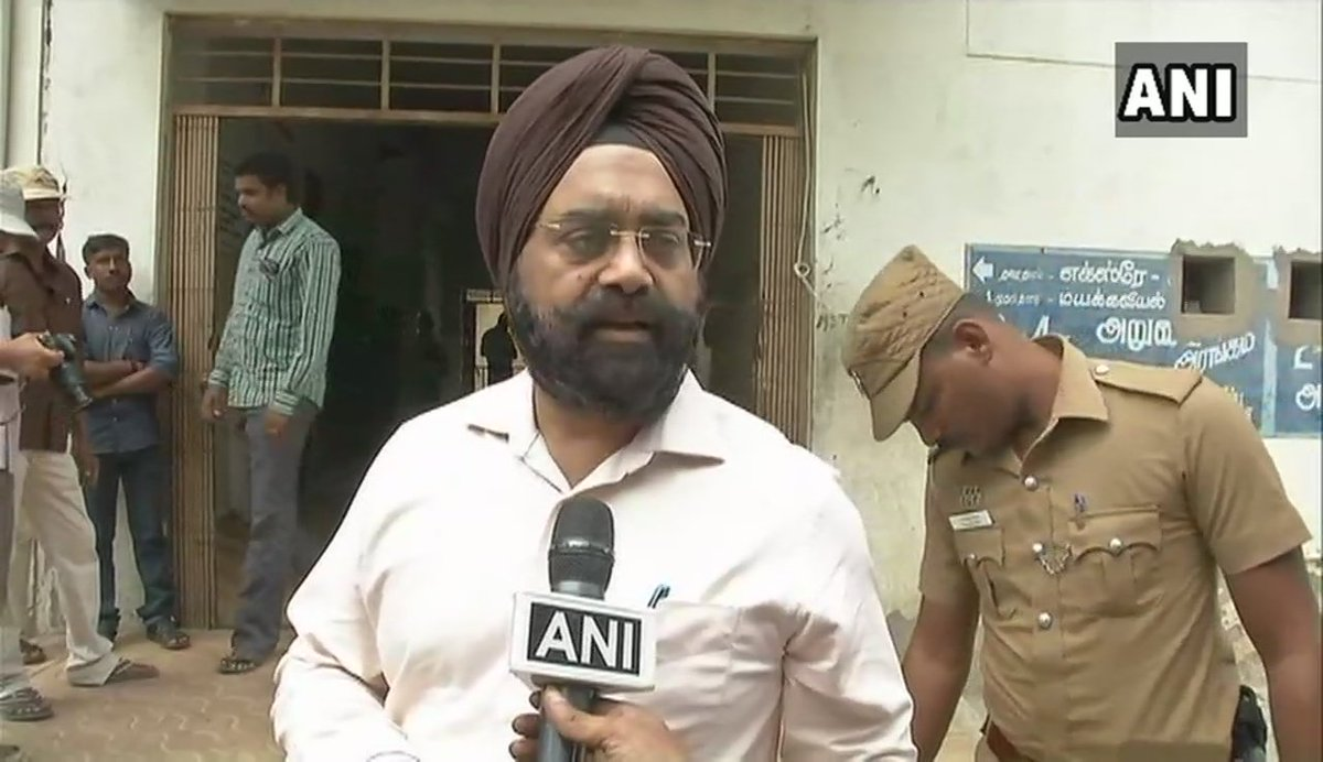 Normalcy should be restored at the earliest. All the responsible officers have been put at prominent places, so that they take care of the situation & there is no tension between security forces & the people: Gagandeep Singh Bedi, govt monitoring officer #TamilNadu