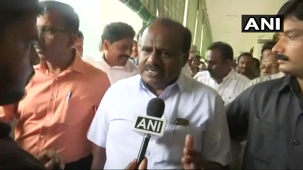 The real action will start now, whatever promises I have made to the citizens of Karnataka, I am going to fulfill them. I am not going to care about this threat (BJP to call state-wide bandh on May 28 on the issue of farmers' loans waiver): Karnataka CM HD Kumaraswamy