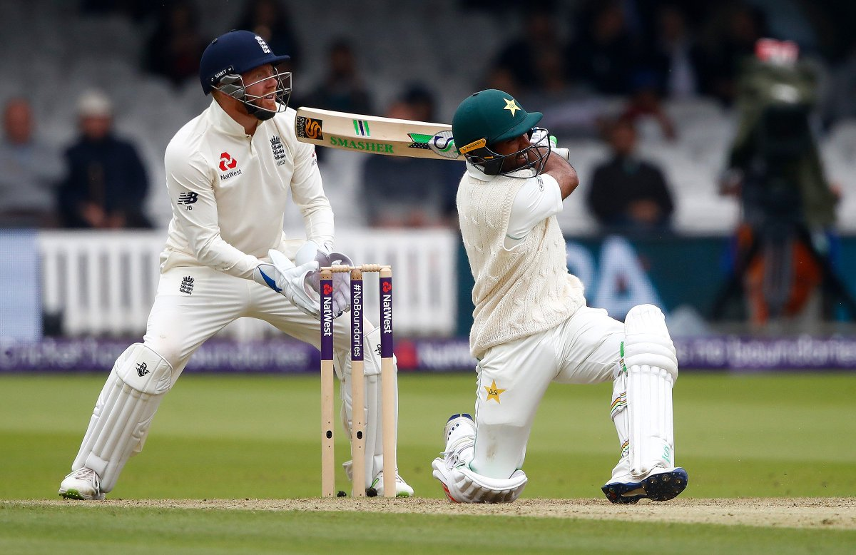 Another great session from Pakistan, losing just two wickets and reducing England's lead to just 48 runs. They're on top at Lord's. SCORES: https://t.co/fRYK4MGeQ6    #ENGvPAK