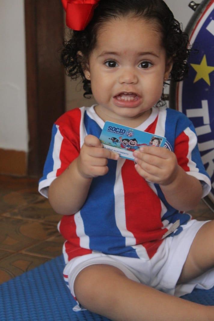 A pequena Lara Cruz já é sócia Esquadrãozinho! Já associou o seu tricolor-mirim? https://t.co/KuHQ84SmG9 💙❤️