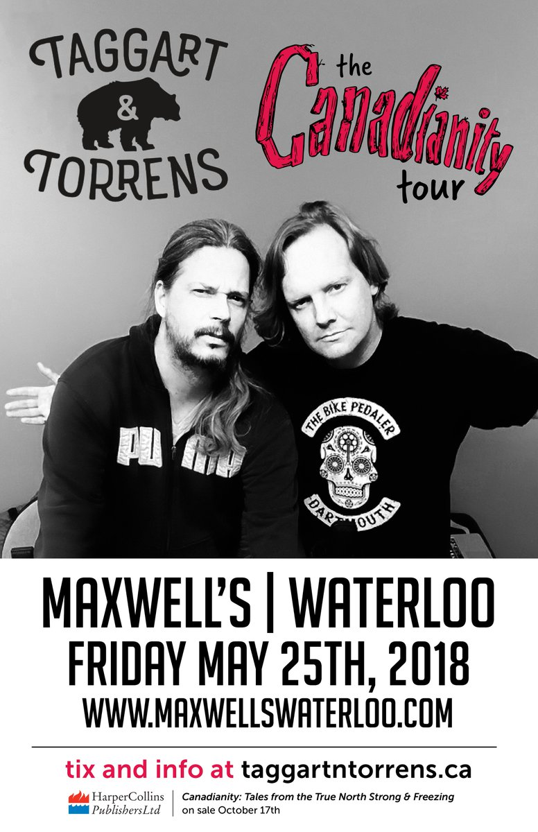 Tickets available both online and at the door - //.ticketscene.ca/ maxwells - Doors open at 730pm show to start at roughly 800pm - @Taggart7 ...  sc 1 st  Twitter & Maxwell\u0027s Waterloo on Twitter: \