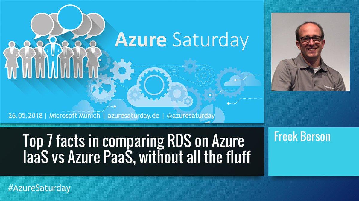 Azure Saturday on Twitter: