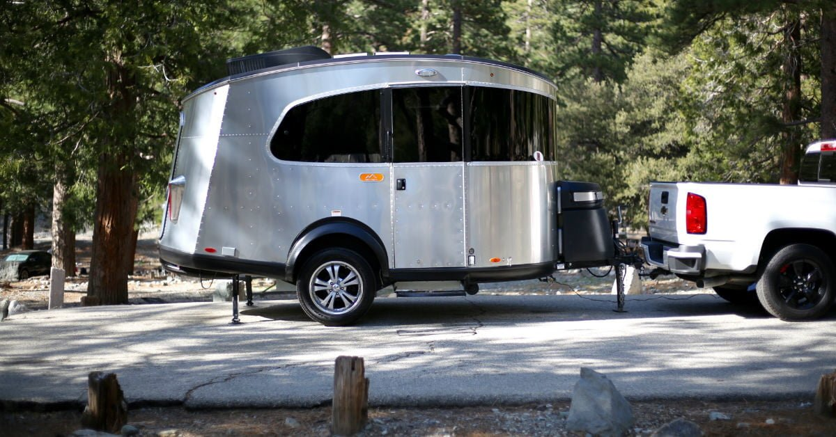 Let In Just the Right Amount of Nature with the Airstream Basecamp bit.ly/2Lvys2w