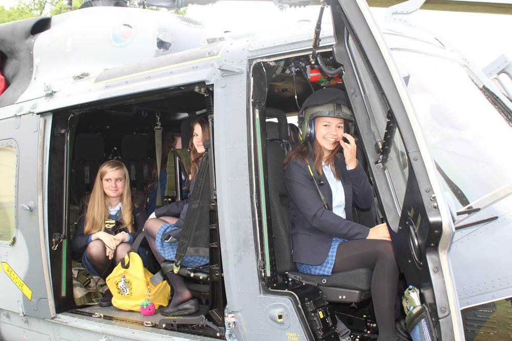 Many thanks to @RMASandhurst for a fantastic STEM Careers Showcase. Our Fourth Form girls were inspired to think about and explore #STEM career opportunities.