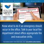 #RealtorSafety Tip of the Week... #EvacuationPlan