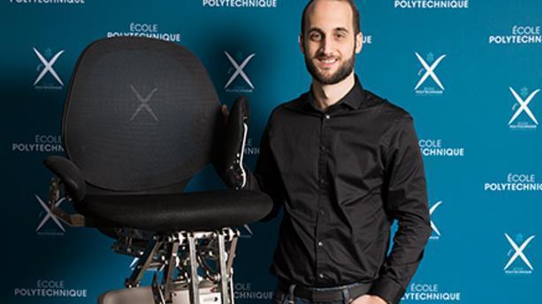 #VivaTech2018 : Gyrolift, le fauteuil gyropode qui veut passer partout https://t.co/sE9eks2zbq