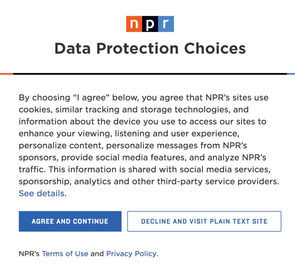 U.S. news sites are ghosting European readers on GDPR deadline https://t.co/rAbpgRZwn2 by @tayhatmaker