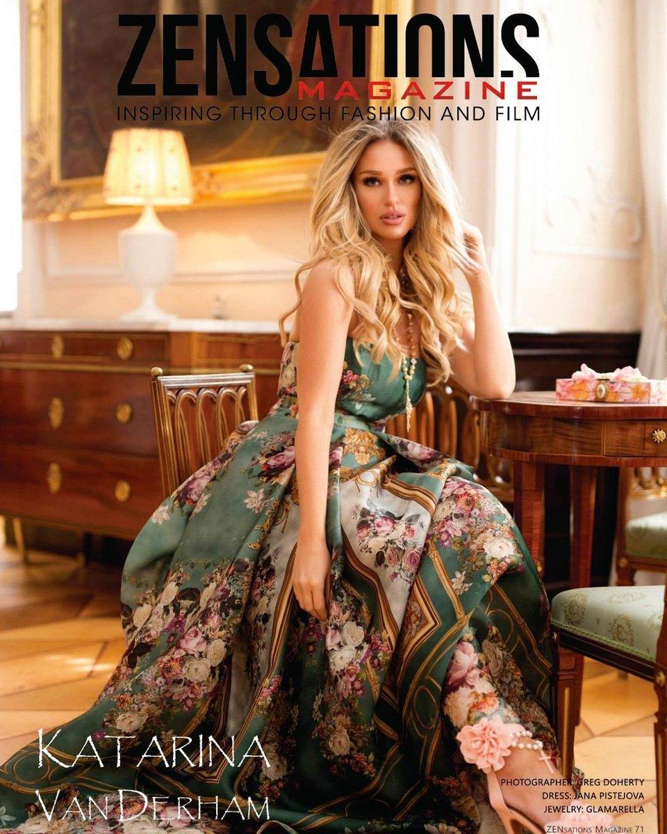 "Am Katarina Model katarina van derham on twitter: ""thank you @zensationsmag"