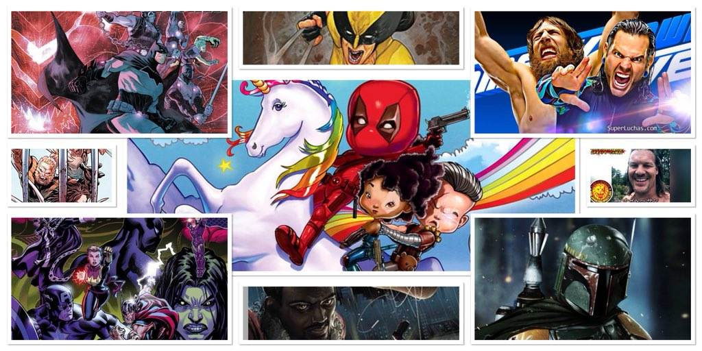 NEW EPISODE ALERT! It's Ep. 21 &amp; our #Deadpool2  REVIEW is here! Also get ready for #BobaFett movie! We talk #SmackDown moving to Fox &amp; review #Avengers #JusticeLeague #Xmenred &amp; more! #PodernFamily #StarWars  #WWE Podbean:  https:// goo.gl/N9VdFR  &nbsp;   Itunes:  https:// goo.gl/Bewwgc  &nbsp;  <br>http://pic.twitter.com/W9pdfA7tiG