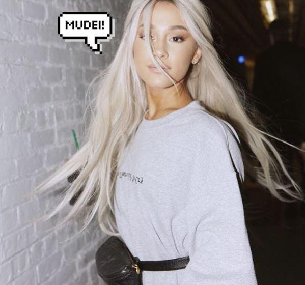 "Ariana Grande mudou o cabelo e está morena: ""Voltei"" https://t.co/yuGnZL7kbC"