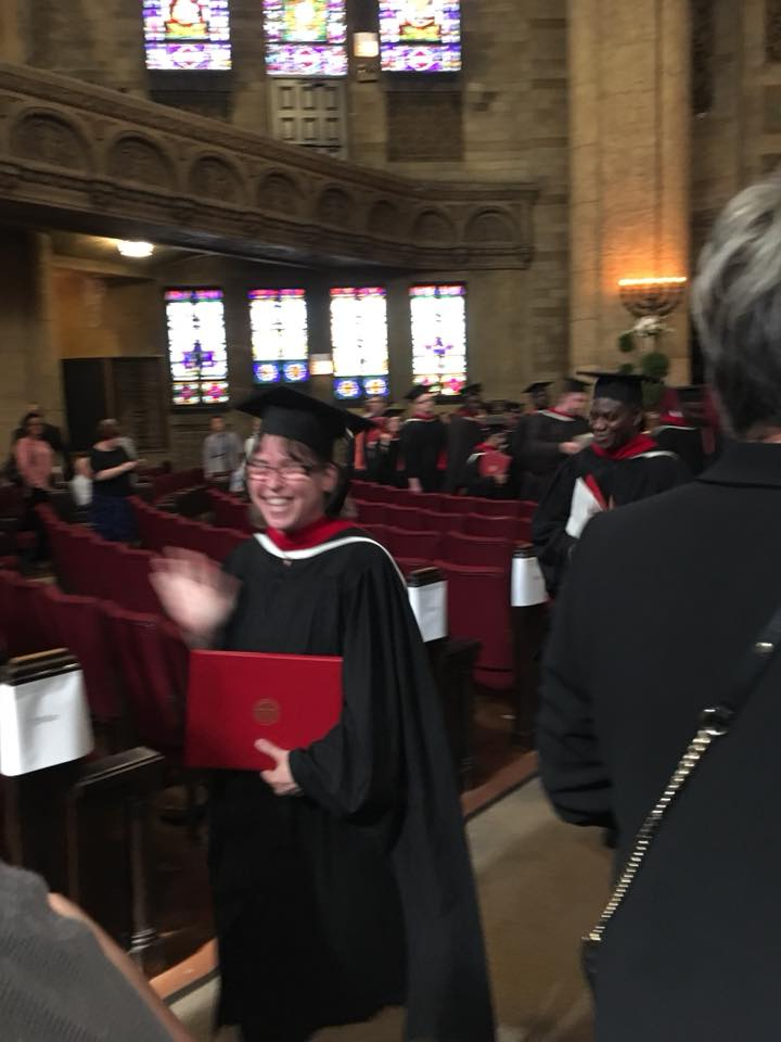 Congratulations Sister Kelly Moline, OP on your Master of Arts in Pastoral Studies! We are proud of you! #FridayFeeling