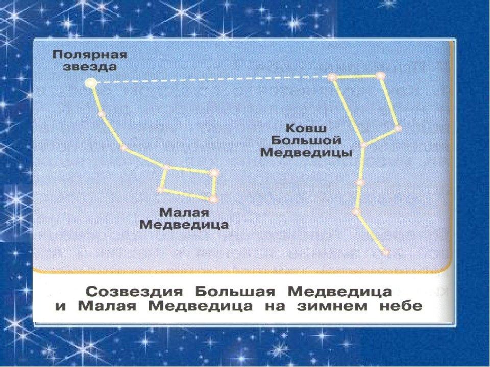 Большая медведица созвездие зимой картинки