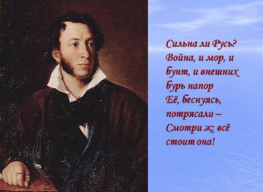 патриотические стихи о россии пушкин многих есть