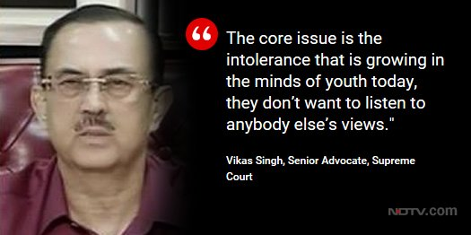 'Death threats are serious offences and are non bailable,' says senior advocate Vikas Singh to NDTV on death threats to Ravish Kumar  Watch LIVE now: https://t.co/hMlRpgrUU6 and https://t.co/QV4m2vmiIZ