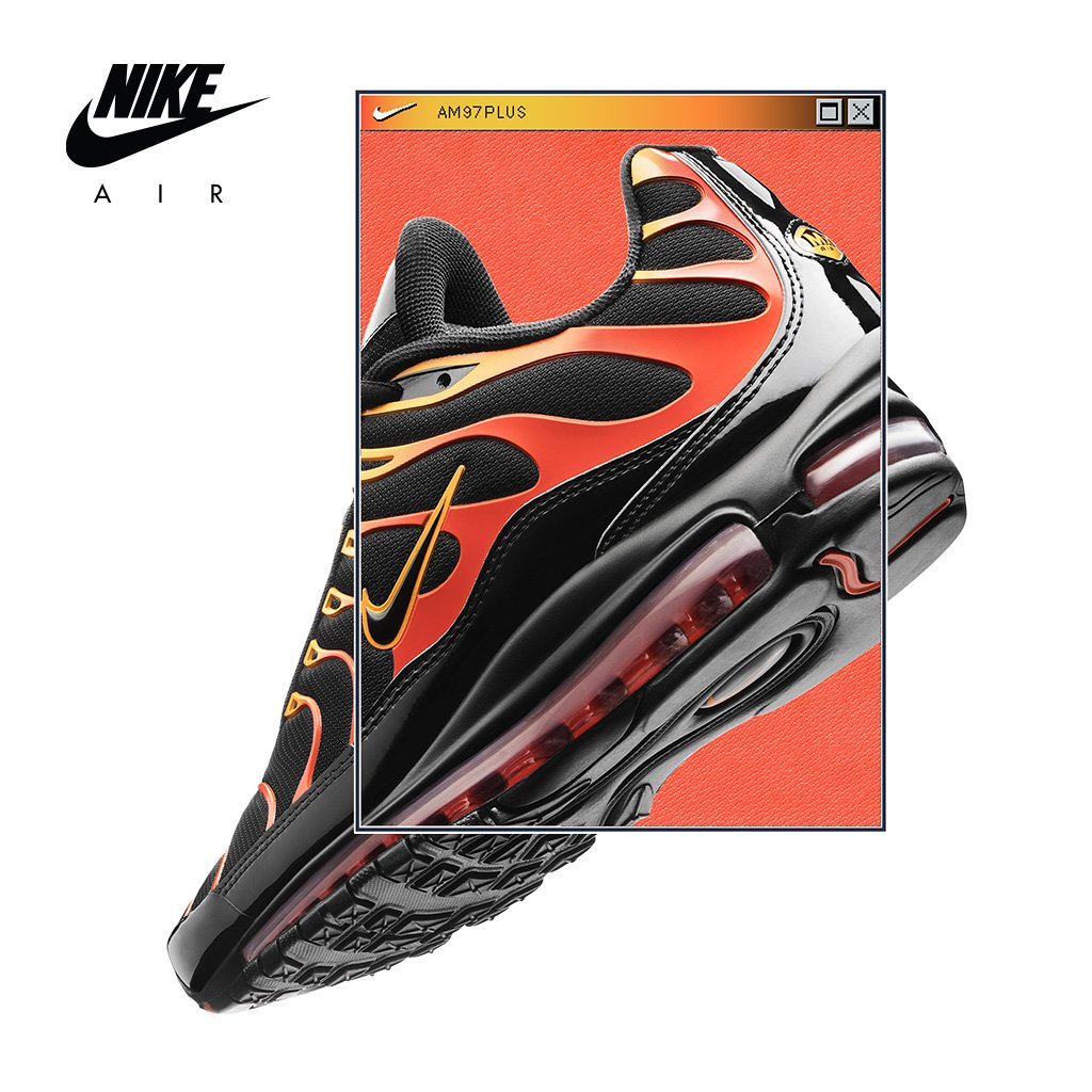 sale retailer 8a0cd de457 Nike Air Max Plus 97  Bullet Shark  Available Now In-Store and Online   http   bit.ly 2sbBRdX pic.twitter.com McKssDZcAr