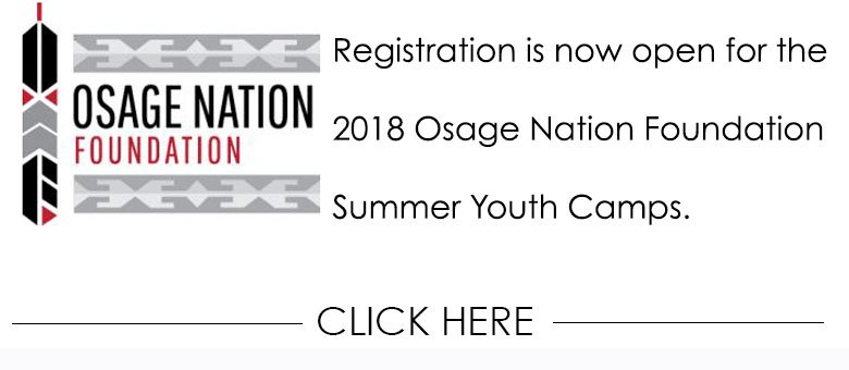 osage nation on twitter the osage nation foundation is offering