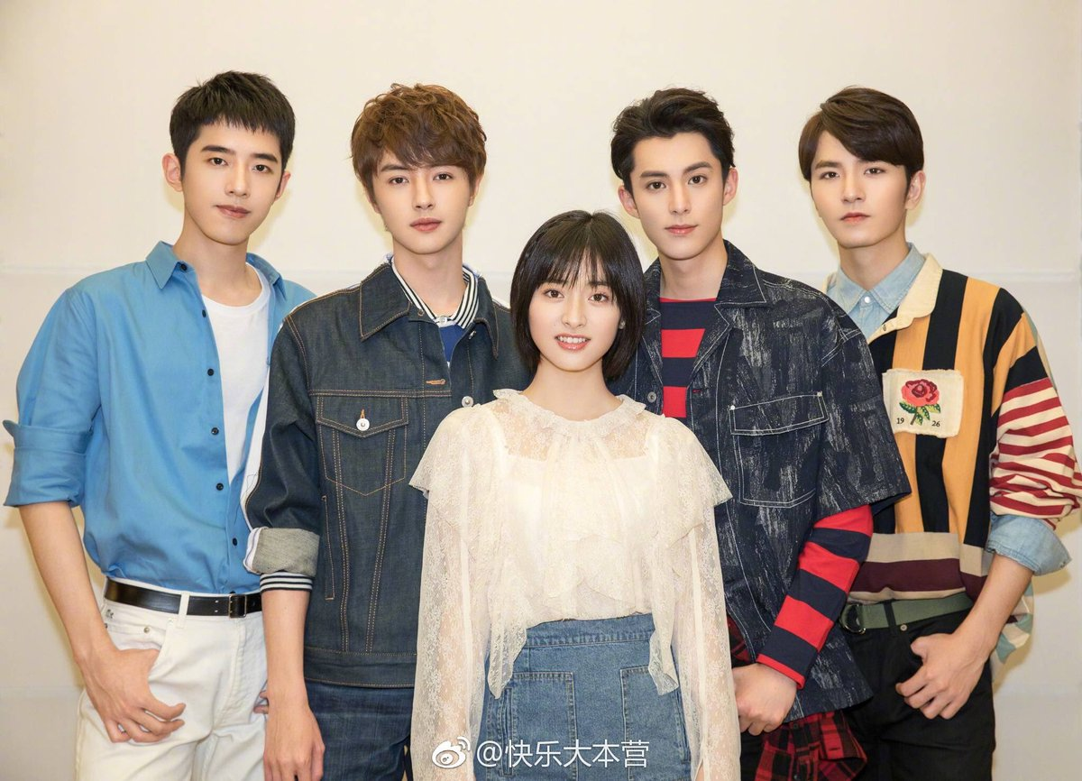 Happy Camp tomorrow night!  Let's all support our Yueyue together with F4!!  #ShenYue #MeteorGarden2018 #沈月   credits:@ShenYuePH , watermark, weibo -tri<br>http://pic.twitter.com/PM1Tx2tSek