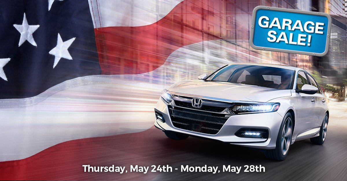 Exceptional Visit Crown Honda Of Greensboro Today To Find Some Amazing Deals During Our  Garage Sale, May 24 28!