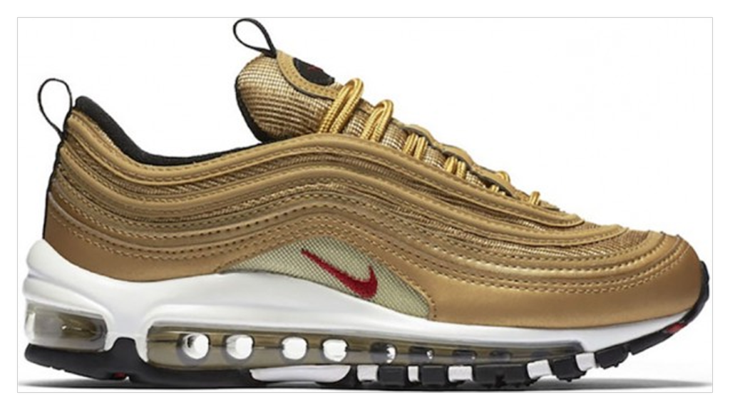 2ce78541 ... the Silver Bullet as one of the best 97 colorways ever. Get yours:  https://stockx.com/nike-air-max-97-metallic-gold-2018  …pic.twitter.com/fgjLtIbNnP