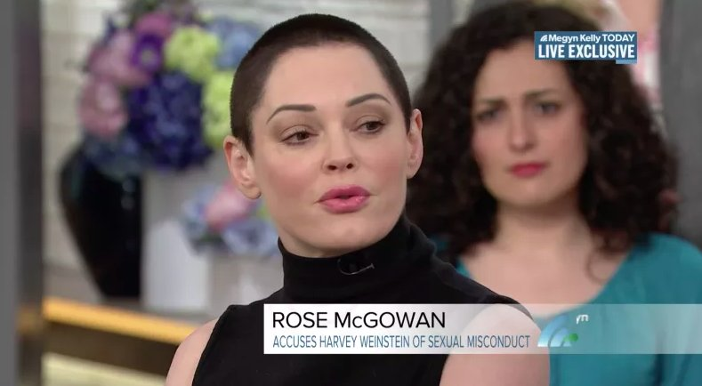 Rose McGowan on Harvey Weinstein's arrest: 'To see him in cuffs...that's a very good feeling' https://t.co/LMlIgkOW56