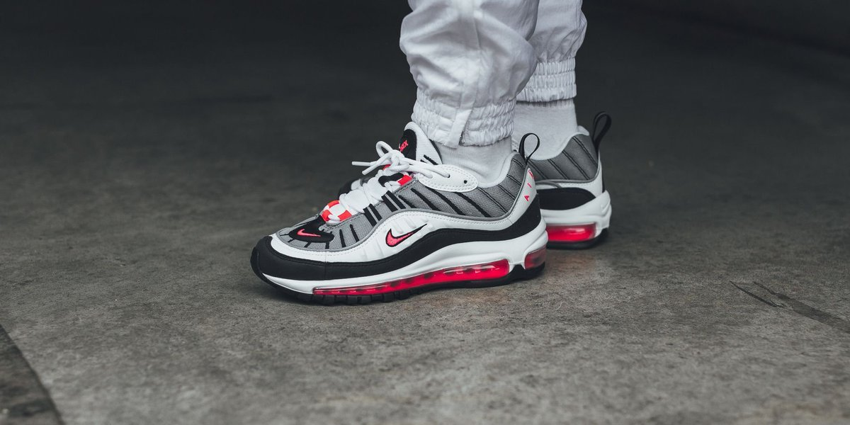 half off a0413 6ce36 ... get titolo on twitter new nike w air max 98 solar red purchase now t.