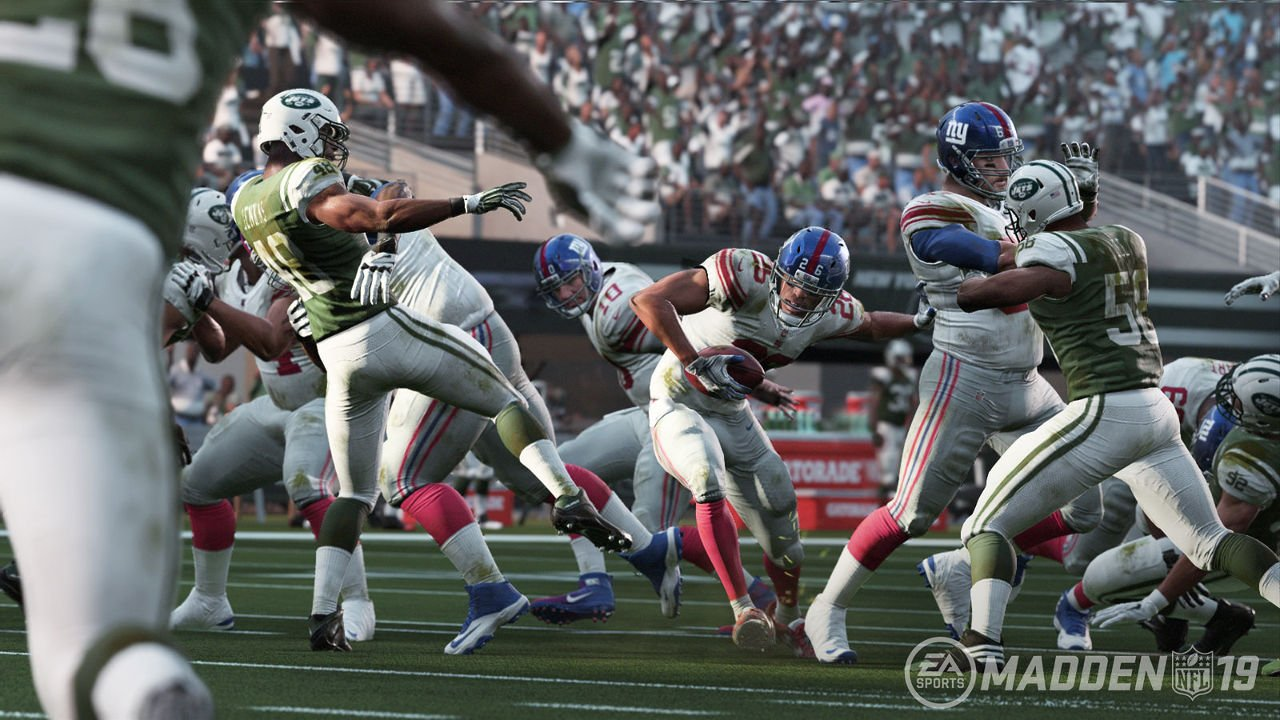 First details on Madden NFL 19, coming to PS4 August 10: https://t.co/BaS4wVZ8f9 https://t.co/YZfene5qVr