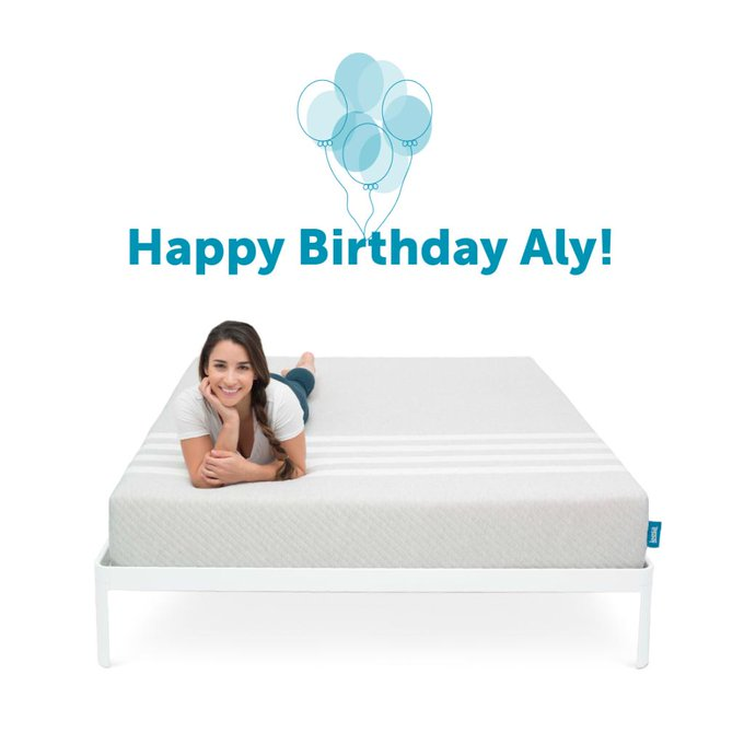 Happy birthday,  We hope your day is full of laughter, love and a really great nap on your Leesa.