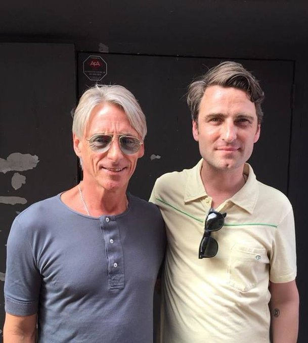 Happy 60th Birthday to my favorite musical hero Paul Weller!