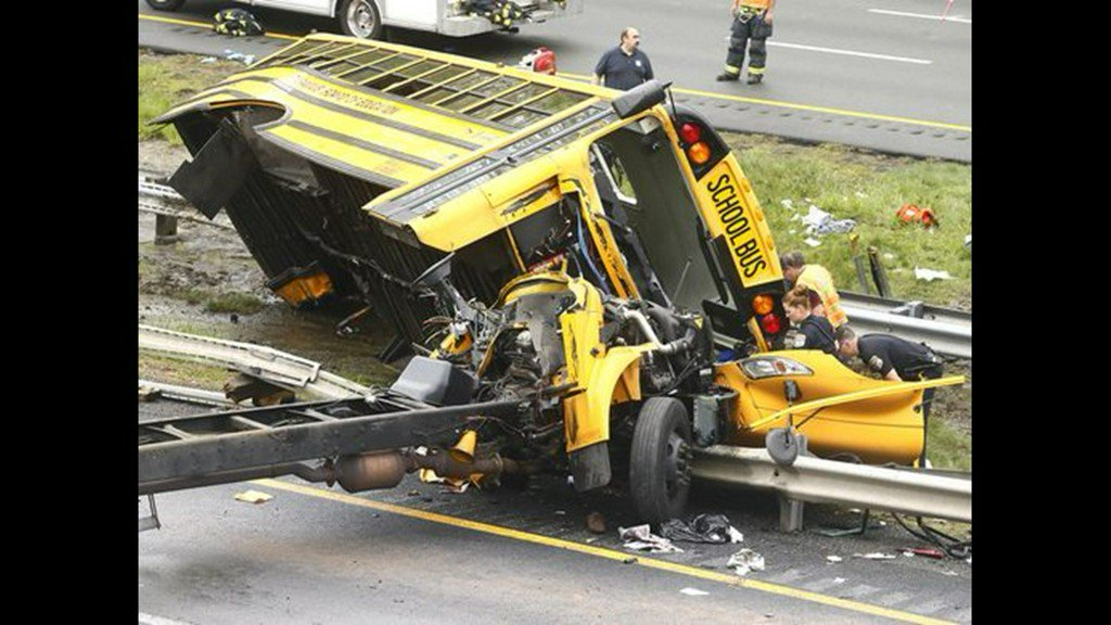 School bus driver charged with vehicular homicide in deaths of student, teacher in New Jersey crash https://t.co/7aExARsv25