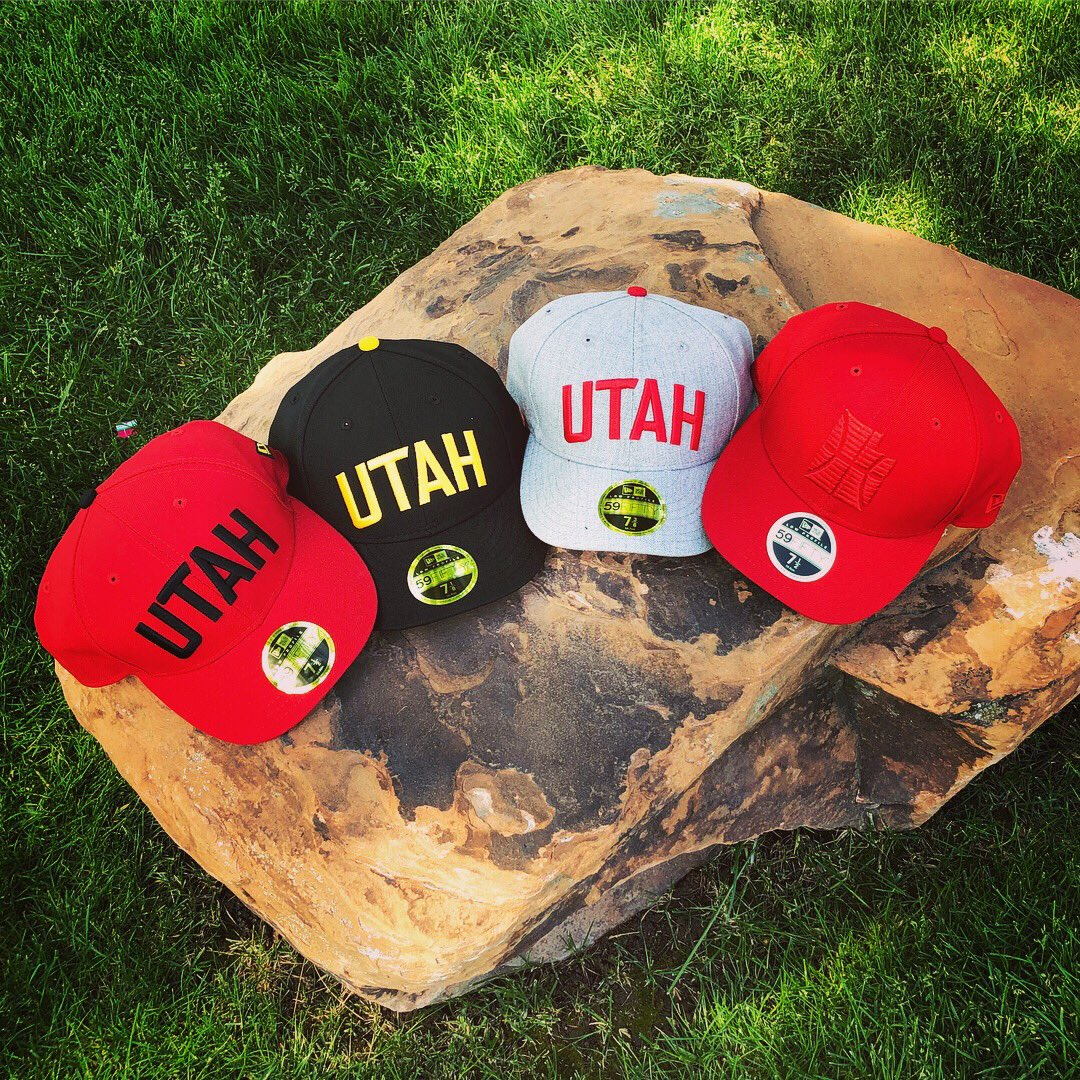 1a94c9bb New City Edition hat styles are in only at the Utah Jazz Team Store! Stop  by @vivintarena before the weekend and snag yours.