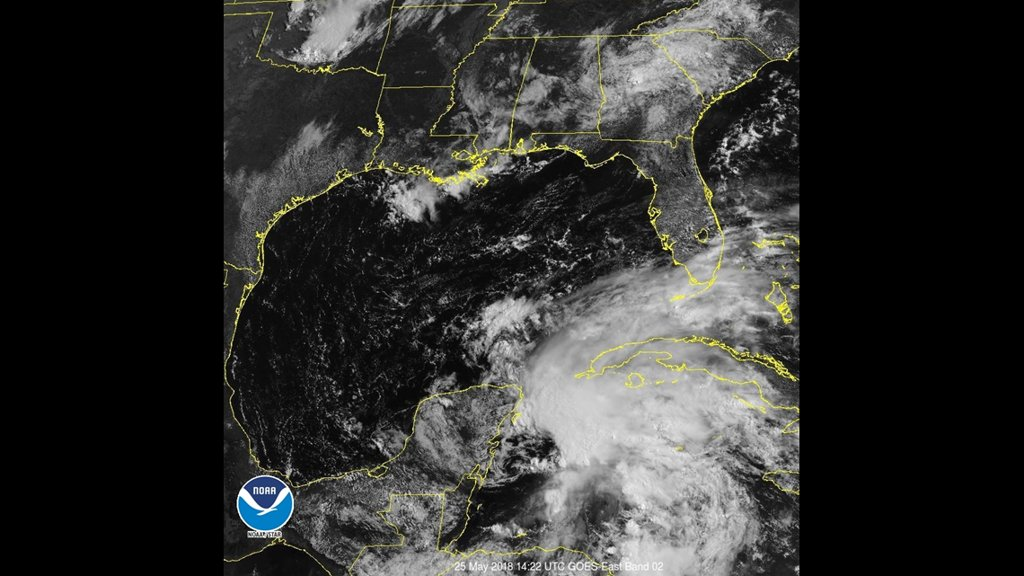 Subtropical Storm Alberto forms in Caribbean, heads for U.S. Gulf Coast https://t.co/MNf3ANieoQ
