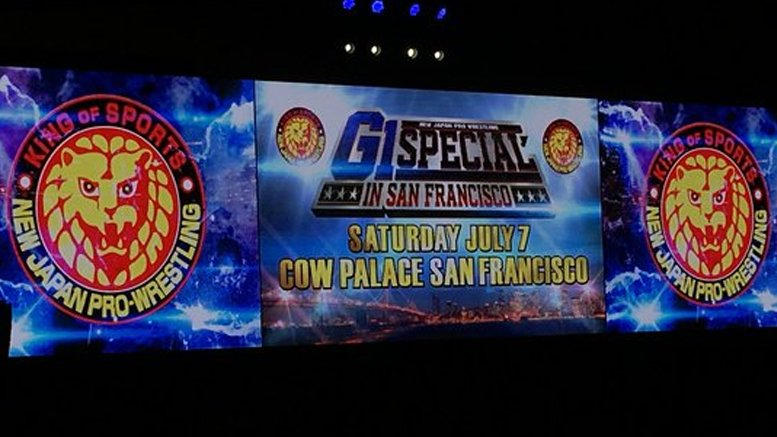 "NJPW&#39;s ""G1 Special in San Francisco"" to Air Live on AXS TV:  http:// bit.ly/2GQdHuP  &nbsp;  <br>http://pic.twitter.com/m9voXS4voE"
