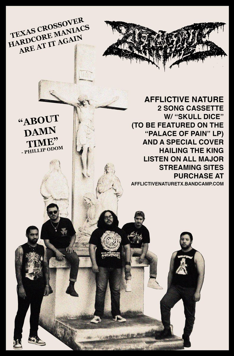 Afflictive Nature - Skull Dice  Stream on Apple Music, Spotify, and all other streaming services.  Listen and purchase at https://afflictivenaturetx.bandcamp.com/album/skull-dice …  Share and listen ❤️