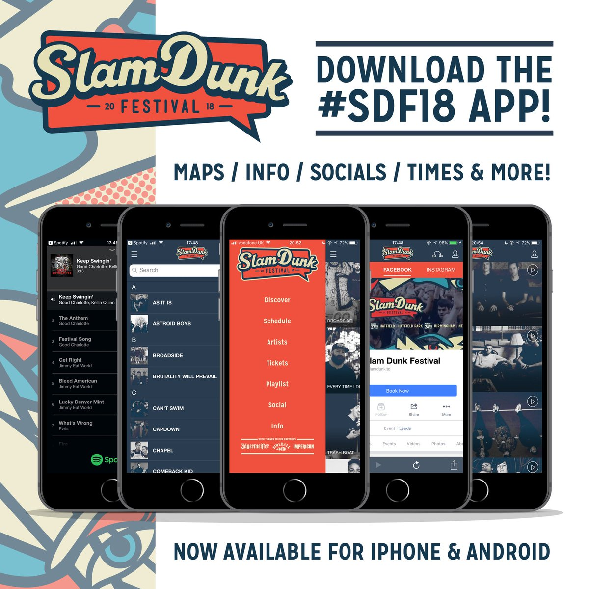 slam dunk on twitter download the sdf18 app make your own