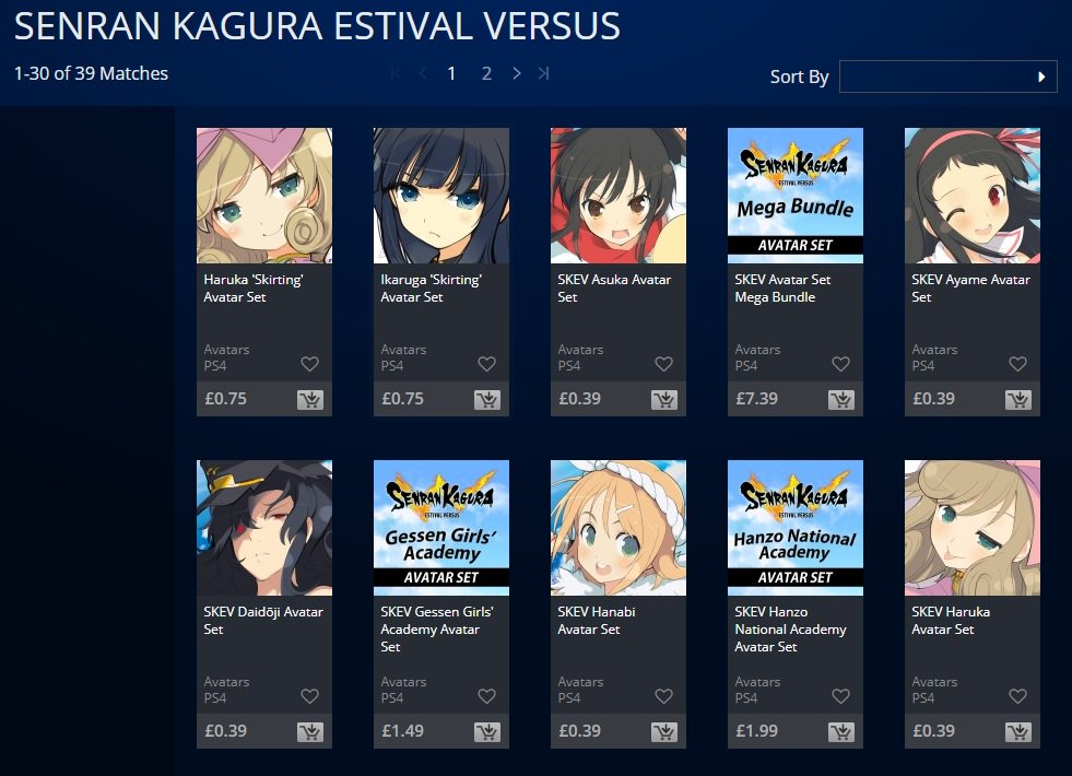 Marvelous Games On Twitter Which Senran Kagura Avatar On The Playstation Store Is Your Favourite And More Importantly Do You Use That Avatar For Your Playstation Profile Letusknow Https T Co Eaxtfpsbzo Https T Co Qpsygujuin Https T Co