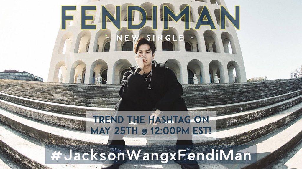 GOT7&Co.'s photo on #JacksonWangXFendiman