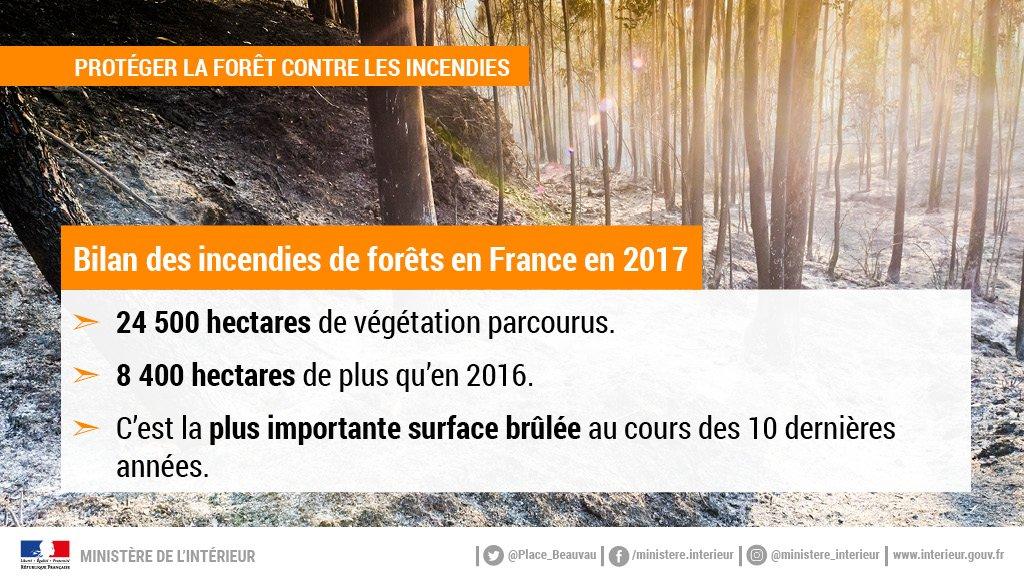 🌲🔥En 2017, l #Sude -est de la France et  #Corsela  ont été touchés par de nombr #incendieseux . Les services de l'État ont déployé d'importants moyens pour protéger les populations et les massifs forestiers.
