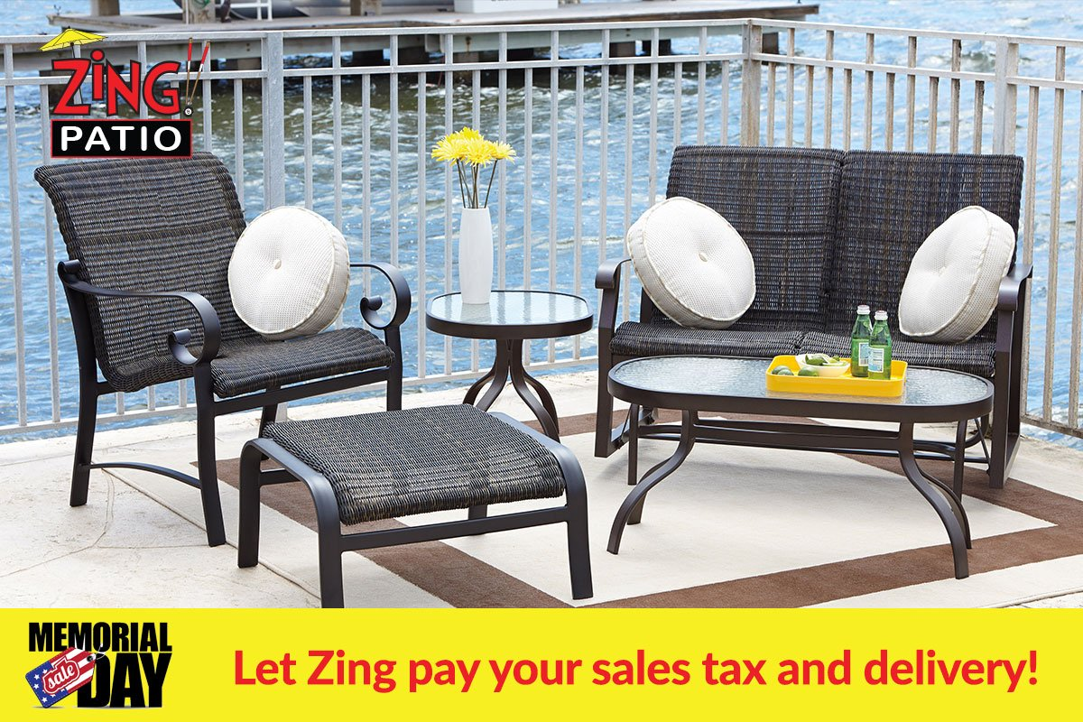 Beau Let Zing Pay Your Sales Tax And Delivery. Tons Of Floor Model Clearance  Sets! #memorialdayweekend #naples #fortmyers #southwestflorida #florida # Patio ...